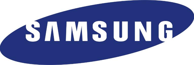 Samsung, das Logo des Unternehmens