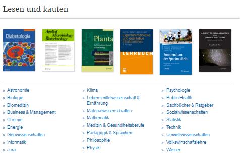Bücher bei Springer