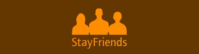 StayFriends Webseite
