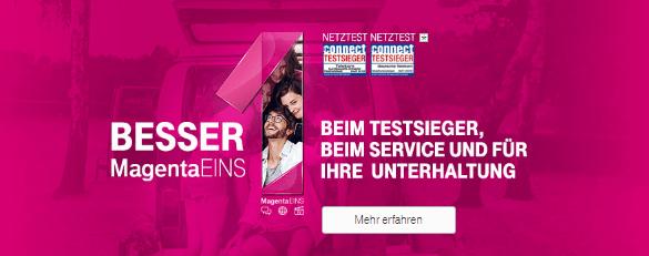 Telekom der Testsieger