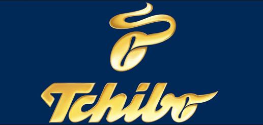 Tchibo das Logo des Unternehmens