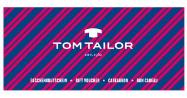 Tom Tailor Geschenkgutschein