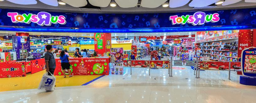 Das ToysRUs Geschäft