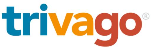 Das Logo von trivago