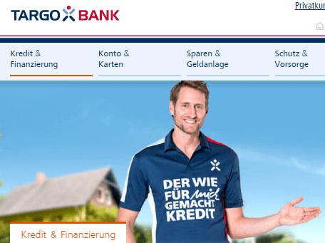 Kredit bei Targo Bank