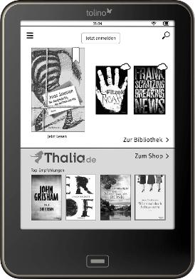 Thalia.de Angebote auf das Tolino