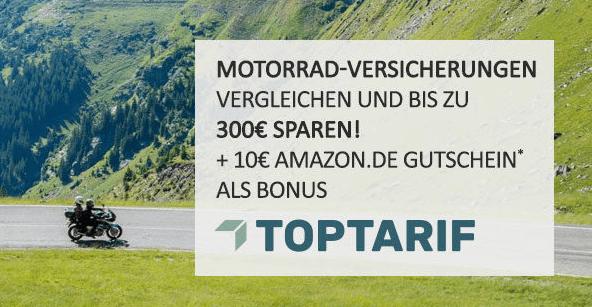 Motorradversicherung bei TOPTARIF