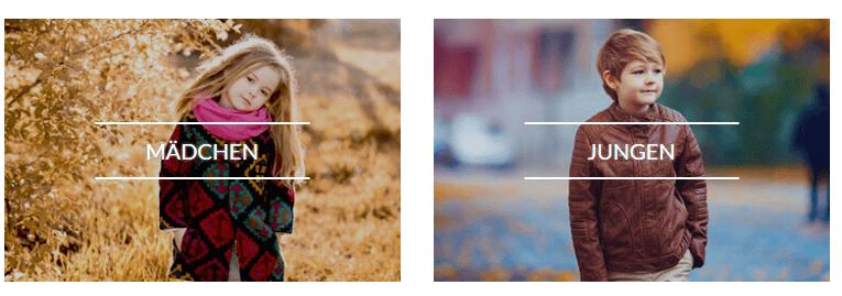Kinderkleidung bei ubup