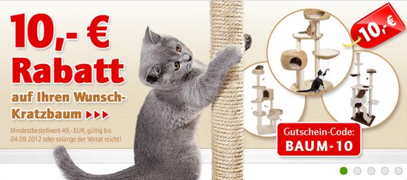 Ein zooplus Schnäppchen für die Katze