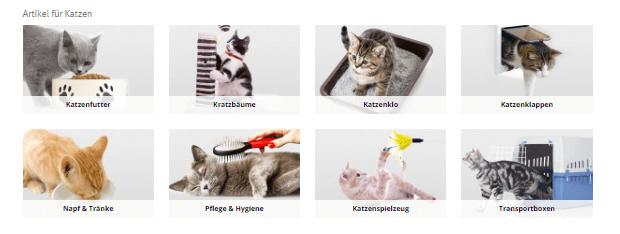 Zubehör für Katzen bei ZooRoyal