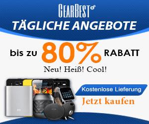 6% GearBest Rabattcode für Sie