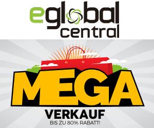 Großer eglobal central Ausverkauf