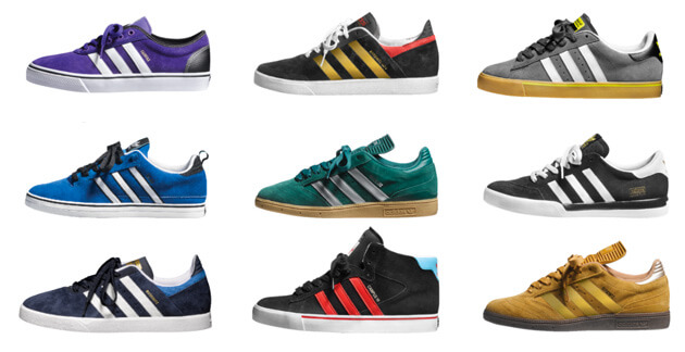 Adidas ofrece una multitud de diferentes productos.