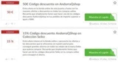 Códigos descuento AndorraQshop