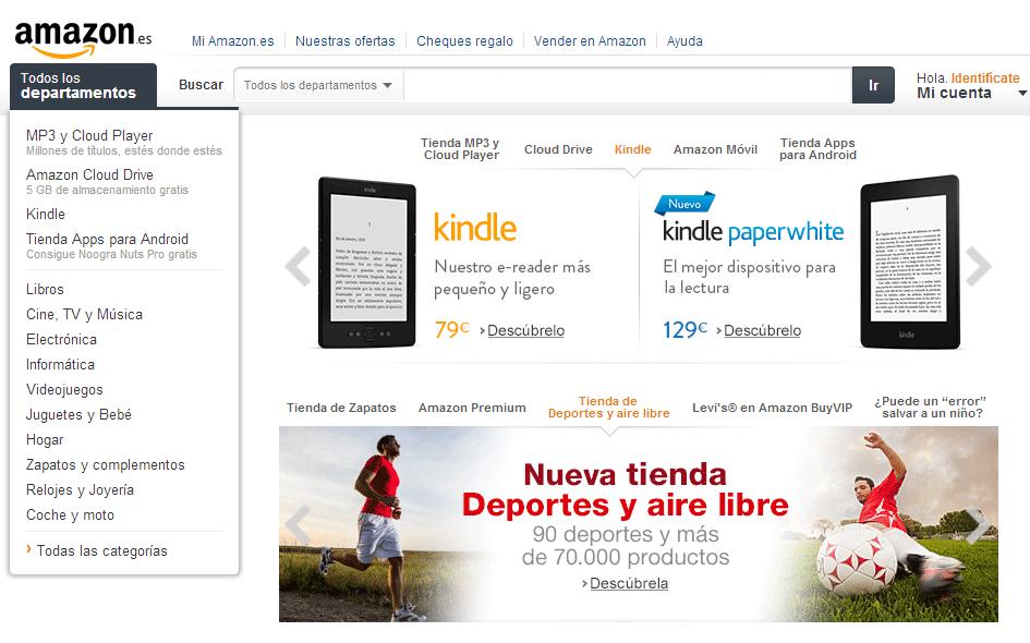 En ta tienda online puedes encontrar muchas ofertas promocionales Amazon