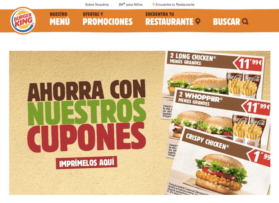 promociones burgerking