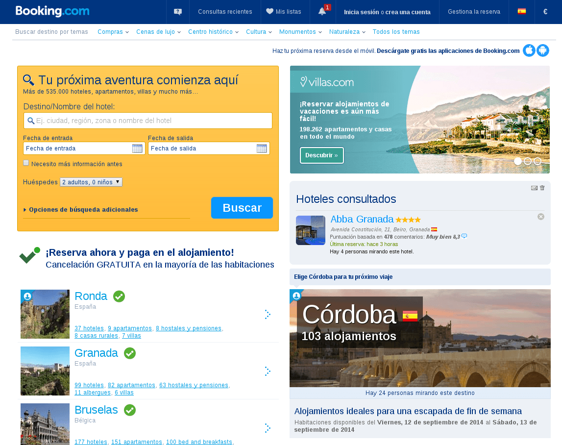 precios increíbles con cupones descuento booking.com