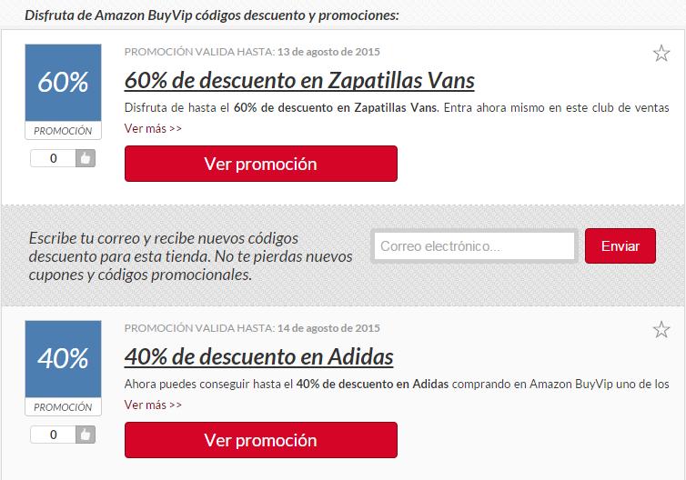 CODIGOS PROMOCION MUEBLES AMAZON