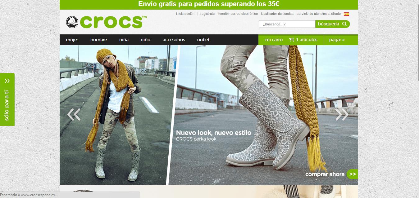 Nuevo estilo de zapatos comprando con codigos descuento Crocs