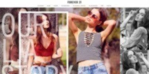 Forever 21 Sitio Web