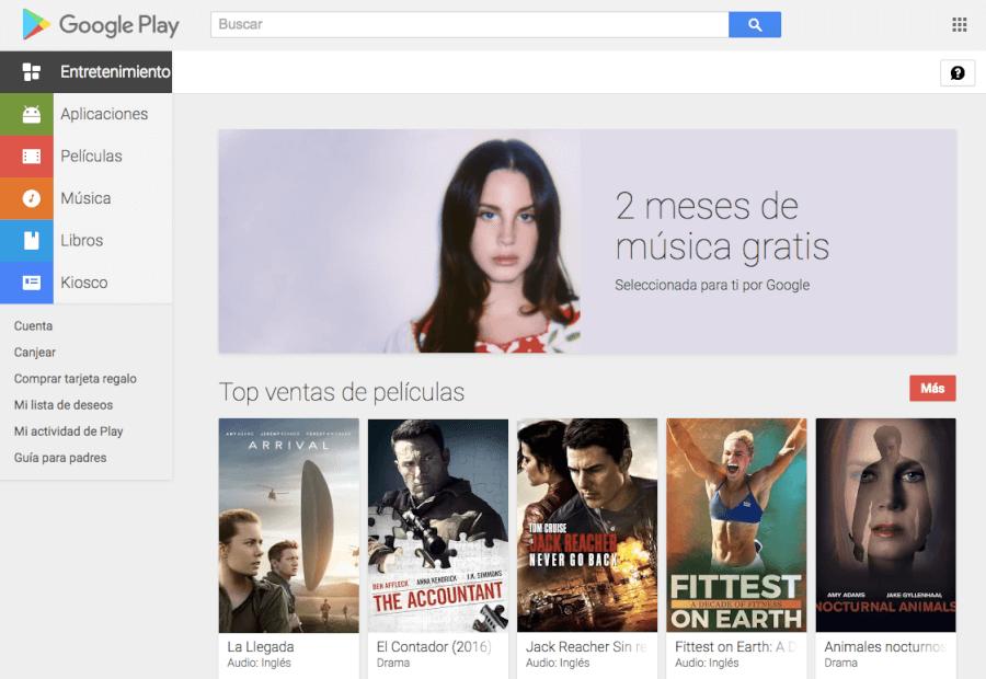oferta Google Play