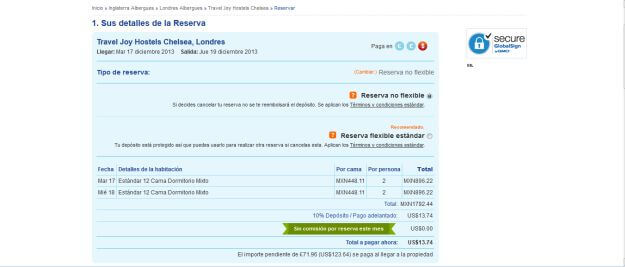 Paso a paso el registro hostelworld