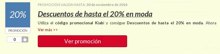 Aprovecha todas las posibilidades de ahorro que te dan las promociones y códigos descuento Kiabi