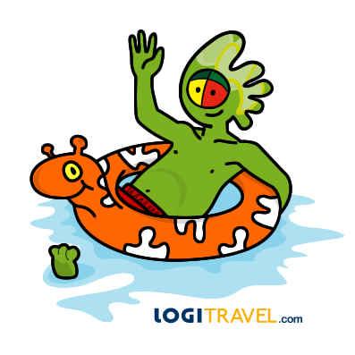 Mascota Logitravel - él ya ha aprovechado las mejores promociones