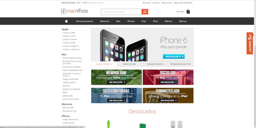 los mejores precios Apple con las ofertas especiales Macnificos