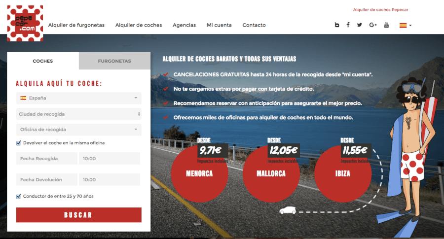 Homepage pepecar