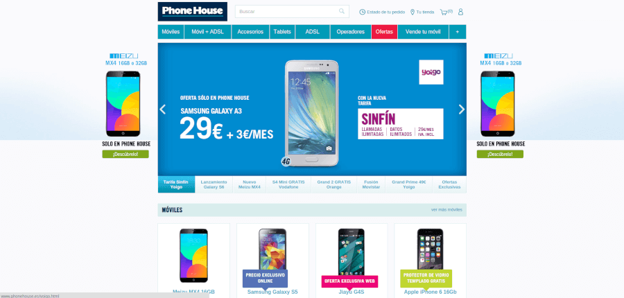Precios económicos en The Phone House