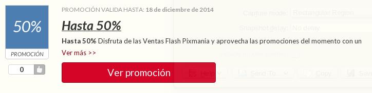 Los grandes ahorros se encuentran en Pixmania, gracias a sus descuentos y códigos promocionales