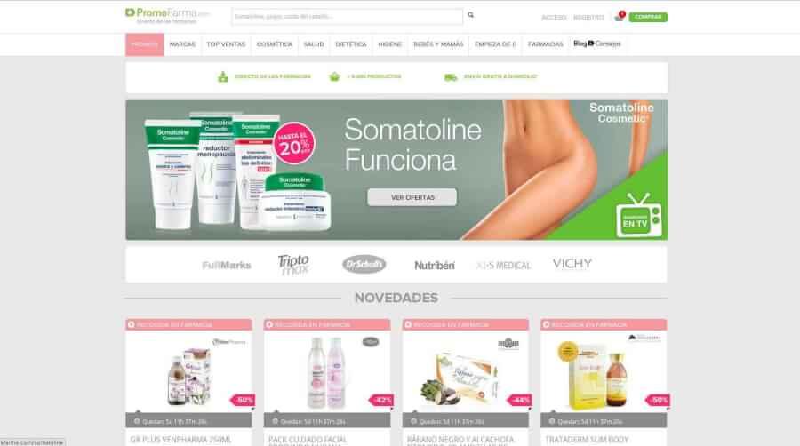 ofertas promocionales PromocionesFarma para conseguir los mejores precios