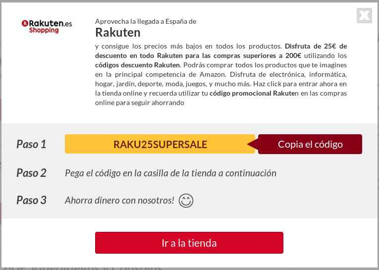 Código Promocional Rakuten