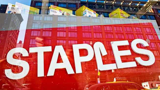 Tienda Staples en Nueva York