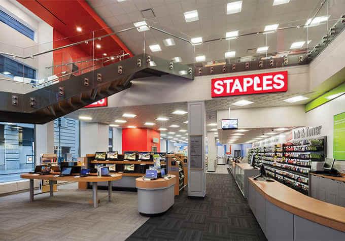 Tienda Staples donde encontrarás siempre todo lo necesario para la oficina