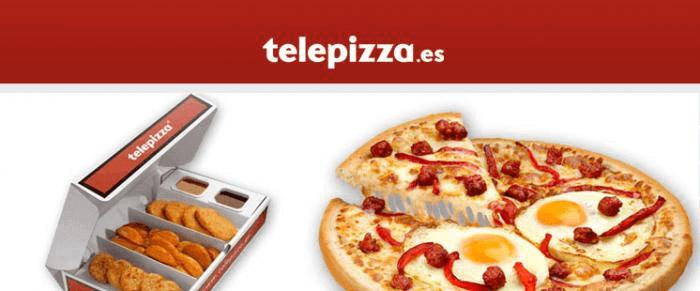 Codigos descuento pizza - disfruta de la oferta promocional de Telepizza y su menu