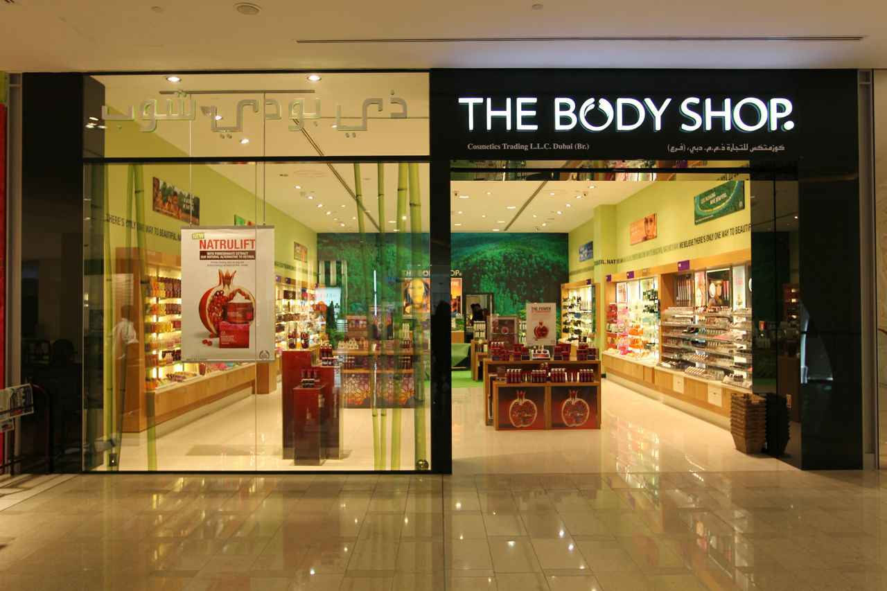 Una de las tiendas The Body Shop