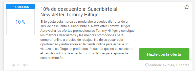 descuento tommy hilfiger