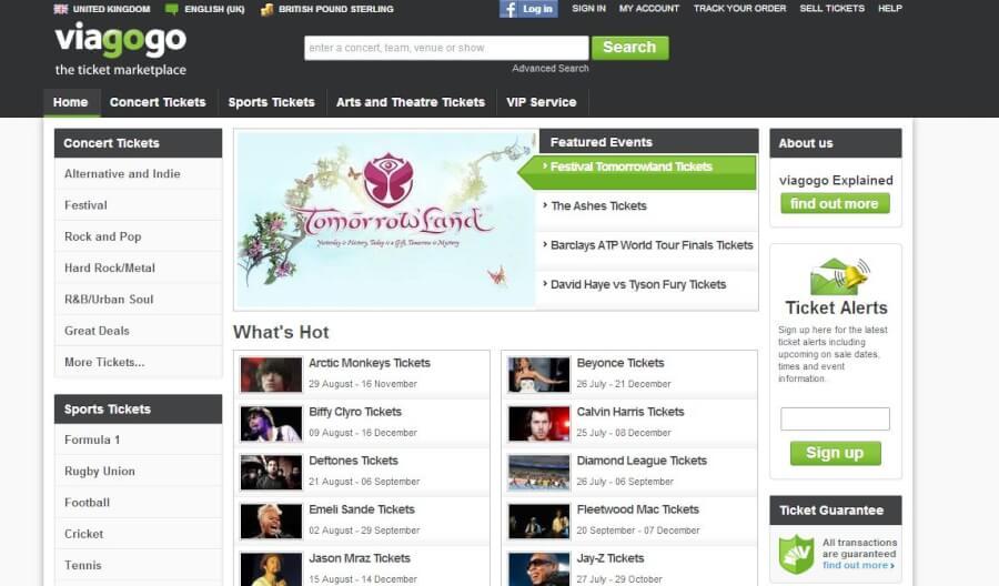 En este sitio puedes encontrar diferentes entradaa y comprarlas con codigos promocionales Viagogo