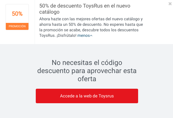 Codigo toysrus 50 enero 2018 aprov chalo picodi - Maletas infantiles toysrus ...