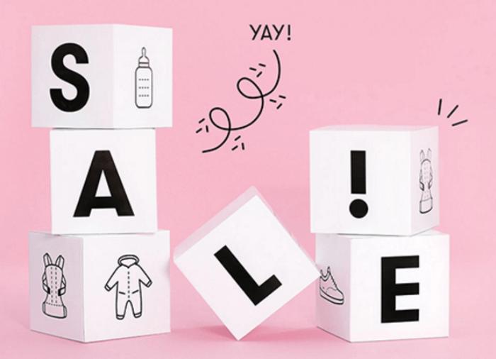 Sale-osio on täynnä tarjouksia