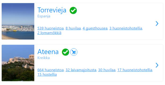 Hotelleja