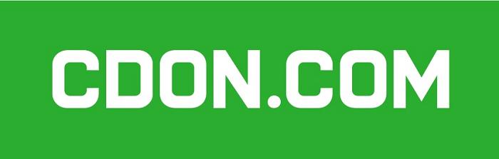 CDON logo on pirteän vihreä