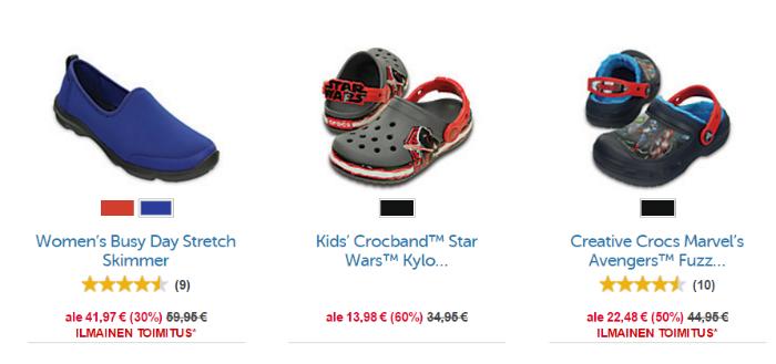 Naisten ja lasten kengät