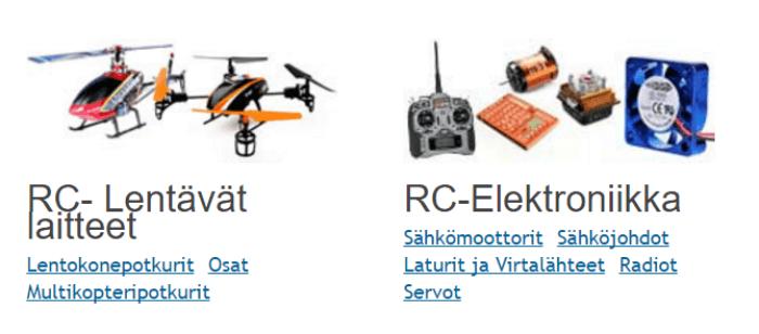 EuroRC:ssä on erinomainen valikoima