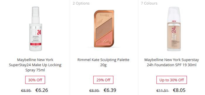 Tarjoushintaisia tuotteita