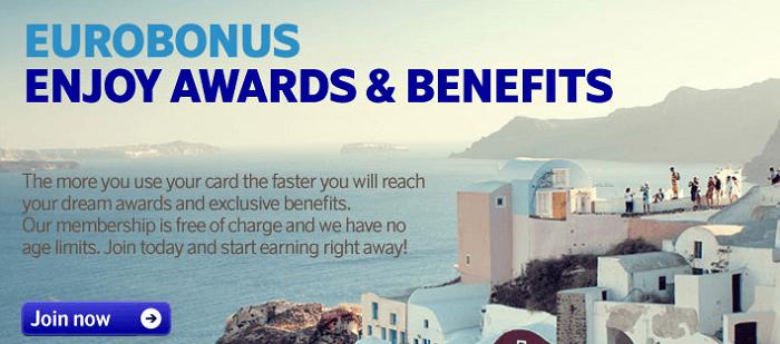EuroBonus-ohjelmassa keräät etuja ja pisteitä