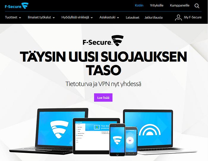 f-secure suojaa tietoturvasi