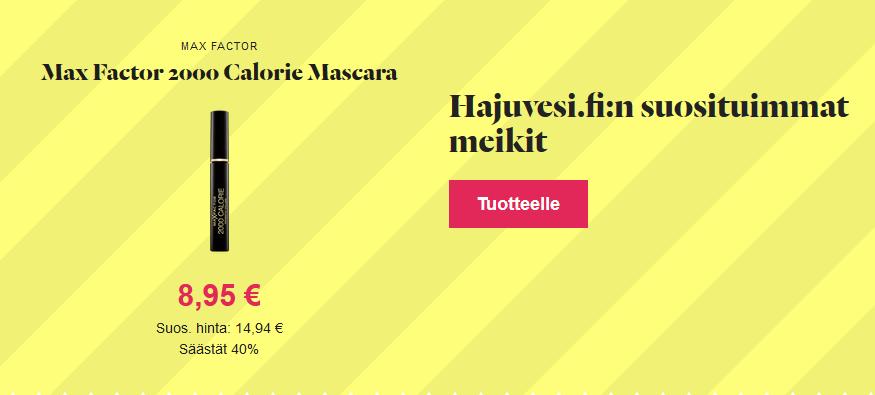 hajuvesi.fi meikit alennus